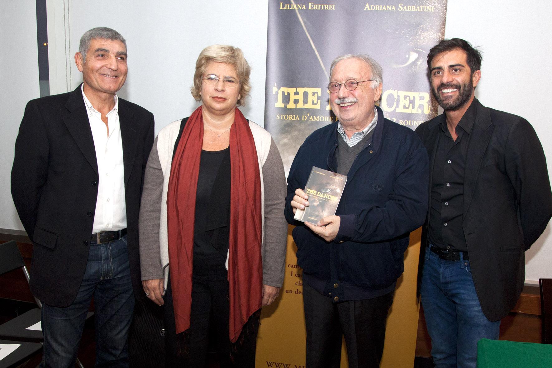 """Boxe, Patrizio Oliva lancia il romanzo """"The Dancer"""" di Adriana Sabbatini"""