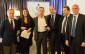 Marco Bonitta riceve il Premio Speciale da Magri, Scozzese, Burlandi e Cecchi - FOTO TORCIVIA