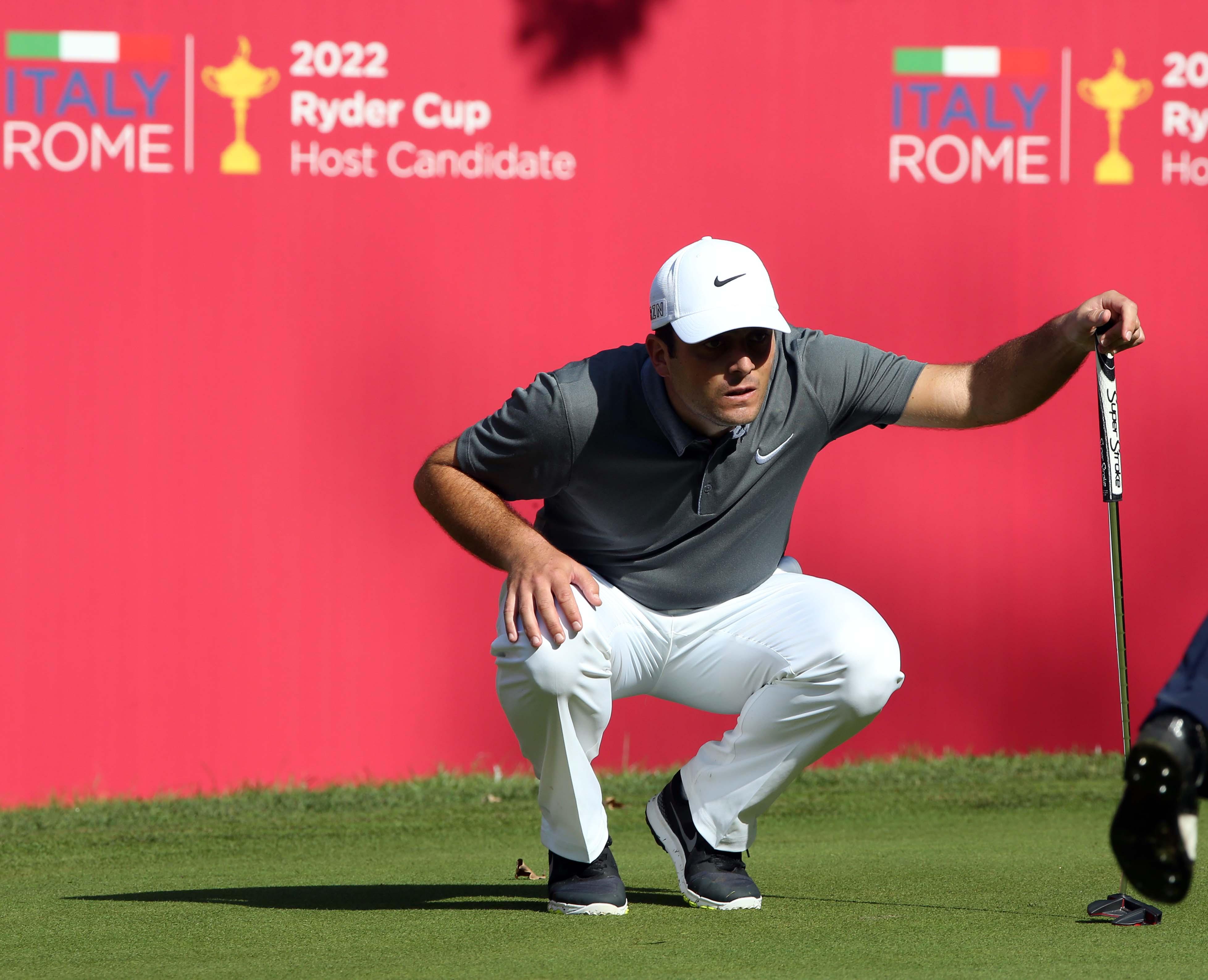 Golf, Open d'Italia: Ottima partenza di Francesco Molinari, è secondo