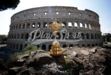 Golf, il Trofeo della Ryder Cup è arrivato a Roma (FOTO)