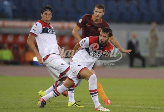 Roma-Crotone 4-0, poker con doppietta di Dzeko (FOTO)