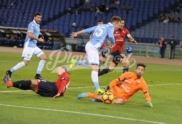 TIM CUP – Lazio, poker al Genoa: ai quarti c'è l'Inter a S.Siro