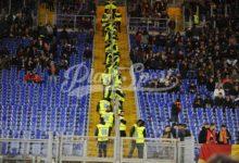 Derby, Stadio Olimpico: ecco le curve con le barriere abbassate (FOTO)