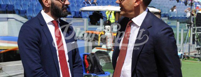 Roma-Lazio, primo derby da ds per Monchi (FOTO)