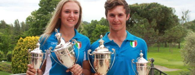 Golf, intervista a Andrea Romano e Caterina Don