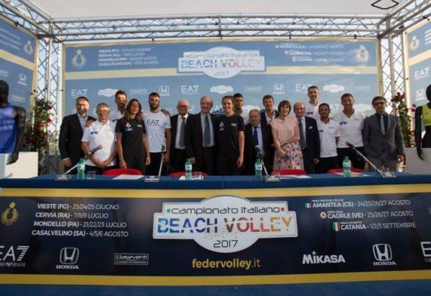 Beach Volley, presentato il Campionato Italiano Assoluto 2017