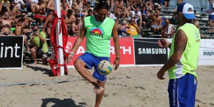 Foot Volley, a Cervia è iniziata la Bobo Summer Cup (FOTO)