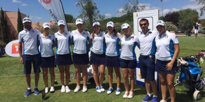 Golf, Europei a squadre: tutti i team azzurri sul podio