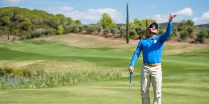 Golf, a tu per tu con con il campione non vedente Stefano Palmieri