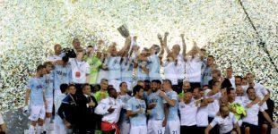 La Lazio vince la Supercoppa TIM: 3-2 alla Juve, doppio Immobile e Murgia (FOTO)