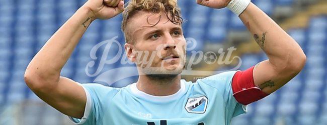 Lazio-Crotone 4-0, tornano al gol Immobile e Felipe Anderson