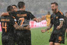 Roma-Verona 3-0, Hellas affondata con Dzeko (doppietta) e Nainggolan
