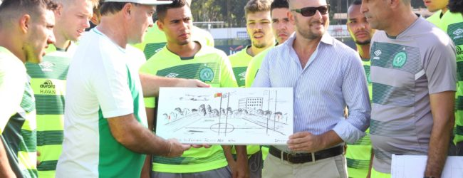 """La Chape allo stadio Tre Fontane, Pambianchi: """"Onore ed emozione"""""""