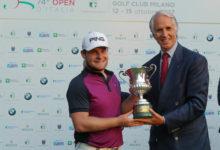 Golf, l'inglese Tyrrel Hatton ha vinto l'Open d'Italia dei Record