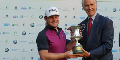 Golf, l'inglese Tyrrel Hatton ha vinto l'Open d'Italia dei Record