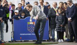 SPECIALE – Golf in piazza a Firenze, bambini in festa per la Ryder Cup