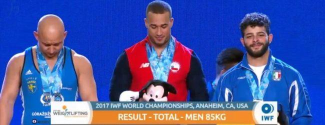 Pesi, Pizzolato doppio bronzo al Mondiale!