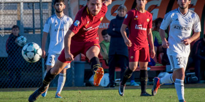 Youth League, le immagini di Roma-Qarabag