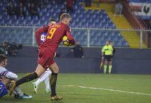Sampdoria-Roma 1-1: Apre Quagliarella su rigore, Dzeko salva nel finale