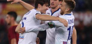Roma-Atalanta 1-2, Cornelius e De Roon affondano i giallorossi