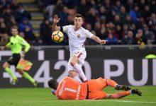 Napoli-Roma 1-1: Mertens risponde a ElSha e riacciuffa il pari al 91′!