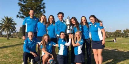Golf, l'Italia batte la Germania e vince il quadrangolare femminile in Spagna