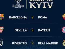 Champions League, ai quarti sarà Roma-Barcellona!