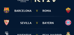 Champions League, ai quarti sarà Roma-Barcellona!
