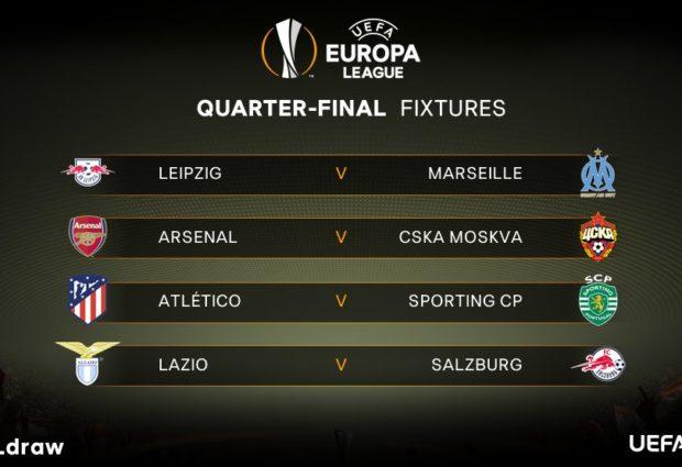 Europa League, la Lazio pesca il Salisburgo. Andata all'Olimpico il 5 aprile