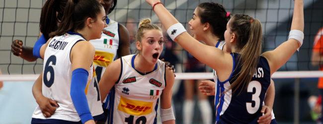 Volley, Europeo U17 femminile: l'Italia concede il bis contro l'Olanda