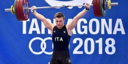 Pesi, Giochi del Mediterraneo: Ficco d'oro, Bordignon doppio argento, Gianelli di bronzo