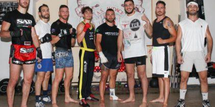 Bellator Roma all'Audace, allenamento nella storia