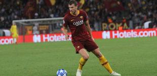 La Roma ritrova Dzeko (tripletta), manita al Viktoria Plzen: 5-0