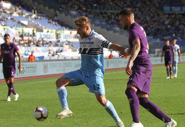 Lazio-Fiorentina 1-0, ci pensa Immobile