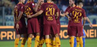 Empoli-Roma 0-2, Nzonzi e Dzeko firmano la vittoria al Castellani