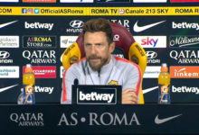 "Juventus-Roma, Di Francesco: ""Formazione top secret"""